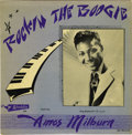 "Music Memorabilia:Recordings, Amos Milburn Rockin' the Boogie Mono 10"" LP (Aladdin 704,1955). Awesome copy of one of the '50s most sought-aft... (Total: 1Item)"
