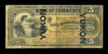 World Paper Money: , Toronto, ON- The Canadian Bank of Commerce $5 Yukon Overprint Jan. 2, 1892 Ch. # 74-14-04c. ...