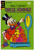 Bronze Age (1970-1979):Cartoon Character, Uncle Scrooge #113 Signed by Carl Barks (Gold Key, 1974) Condition:NM....