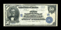 National Bank Notes:Iowa, Davenport, IA - $50 1902 Plain Back Fr. 675 The First NB Ch. # 15....