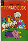 Bronze Age (1970-1979):Cartoon Character, Donald Duck #154 Signed by Carl Barks (Gold Key, 1974) Condition:NM....