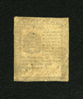 Colonial Notes:Pennsylvania, Pennsylvania April 25, 1776 9d Fine....