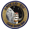 Explorers:Space Exploration, Apollo 12 Flown Patch with Letter of Authenticity Signed by Walter Cunningham....