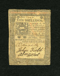 Colonial Notes:Pennsylvania, Pennsylvania October 1, 1773 10s Very Fine....