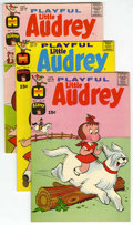 Bronze Age (1970-1979):Humor, Playful Little Audrey - File Copy Group (Harvey, 1971-76)Condition: Average NM-.... (Total: 22 Comic Books)
