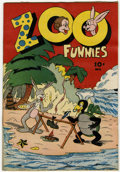 Golden Age (1938-1955):Funny Animal, Zoo Funnies #2 (Charlton, 1945) Condition: FN/VF....