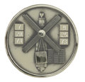 Explorers:Space Exploration, Skylab II (SL-3) Flown Robbins Silver Medallion, Serial Number9F,...