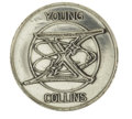 Explorers:Space Exploration, Gemini 10 Flown Fliteline Silver-colored Medallion, ...