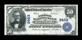 National Bank Notes:Maryland, Baltimore, MD - $50 1902 Plain Back Fr. 683 The National MarineBank Ch. # 2453. ...