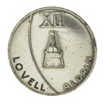 Explorers:Space Exploration, Gemini 12 Flown Fliteline Silver-colored Medallion, ...
