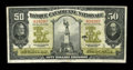 Canadian Currency: , Montreal, PQ- Banque Canadienne Nationale $50 Feb. 1, 1925 Ch. #85-10-08. ...