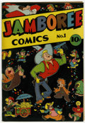 Golden Age (1938-1955):Funny Animal, Jamboree Comics #1 (Round, 1946) Condition: FN....