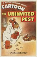 "Movie Posters:Animated, The Uninvited Pest (MGM, 1943). One Sheet (27"" X 41"")...."