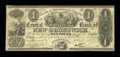 Canadian Currency: , Fredericton, NB- The Central Bank of New Brunswick £1 Oct. 1, 1857Ch. # 95-10-10-04. ...