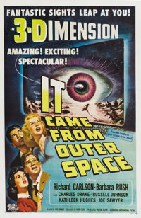 """It Came From Outer Space (Universal, 1953). One Sheet (27"""" X 41"""")"""
