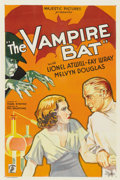 """Movie Posters:Horror, The Vampire Bat (Majestic, 1933). One Sheet (27"""" X 41"""")...."""