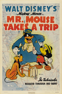 "Mr. Mouse Takes a Trip (RKO, 1941). One Sheet (27"" X 41"")"