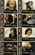 "Movie Posters:Rock and Roll, Let It Be (United Artists, 1970). Lobby Card Set of 8 (11"" X14"").... (Total: 8 Items)"