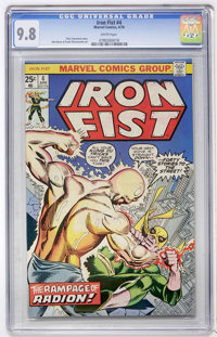 Iron Fist #4 (Marvel, 1976) CGC NM/MT 9.8 White pages