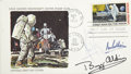 Explorers:Space Exploration, Apollo 11 First Day Cover, Signed by Neil Armstrong, Buzz Aldrin,Michael Collins, and Richard Gordon. ... (Total: 2 Items)