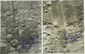 Explorers:Space Exploration, Two Apollo 12 Command Module Flown Lunar Photo-Maps, Signed byRichard Gordon. ... (Total: 3 Items)