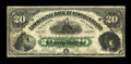 Canadian Currency: , Saint Johns, NF- Commercial Bank of Newfoundland $20 Jan. 3, 1888Ch. # 185-18-10. ...