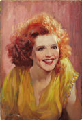 "Movie Posters:Drama, Call Her Savage (Fox, 1932). Oil Painting on Board (14.5"" X 21"")...."