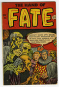 Golden Age (1938-1955):Horror, The Hand of Fate #15 (Ace, 1952) Condition: FN....