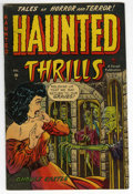 Golden Age (1938-1955):Horror, Haunted Thrills #7 (Farrell, 1953) Condition: FN/VF....