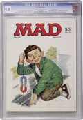 Magazines:Mad, Mad #110 Gaines File pedigree (EC, 1967) CGC NM/MT 9.8 Off-white to white pages. ...
