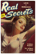 "Golden Age (1938-1955):Romance, Real Secrets #2 Davis Crippen (""D"" Copy) pedigree (Ace Periodicals,1950) Condition: VF+...."