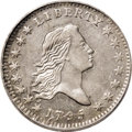Early Half Dollars: , 1795 50C 2 Leaves AU55 PCGS. O-102, R.4. This piece is anintermediate die state, the obverse meeting Overton'srequirement...