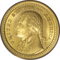 Commemorative Gold: , 1903 G$1 Louisiana Purchase/Jefferson MS65 PCGS. While the originalpromotion for the Louisiana Purchase pieces included su...