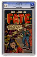 Golden Age (1938-1955):Horror, The Hand of Fate #14 (Ace, 1952) CGC VG/FN 5.0 Off-white pages.Mike Sekowsky art. This is currently the highest grade award...