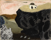 MILTON AVERY (American 1893-1965) Laguna Beach, 1943 Oil on canvas 16 x 20 inches (40.6 x 50.8 cm) Signed and dated