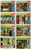 "Movie Posters:Horror, The Mummy (Universal International, 1959). Lobby Card Set of 8 (11"" X 14"").... (Total: 8 Items)"