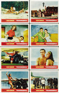 "Movie Posters:James Bond, Thunderball (United Artists, 1965). Lobby Card Set of 8 (11"" X14"").... (Total: 8 Items)"