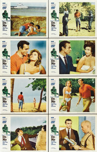 """Dr. No (United Artists, 1962). Lobby Card Set of 8 (11"""" X 14"""").... (Total: 8 Items)"""