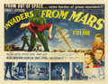 "Movie Posters:Science Fiction, Invaders From Mars (20th Century Fox, 1953). Half Sheet (22"" X28"")...."
