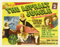 "Movie Posters:Film Noir, The Asphalt Jungle (MGM, 1950). Half Sheet (22"" X 28"") Style B...."