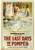"Movie Posters:Drama, Last Days of Pompeii (Independent, 1913). One Sheet (27"" X 41"")...."