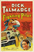 "Movie Posters:Action, The Fighting Pilot (Ajax, 1935). One Sheet (27"" X 41"")...."