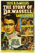 "Movie Posters:War, The Story of Dr. Wassell (Paramount, 1944). One Sheet (27"" X 41"")Style A...."