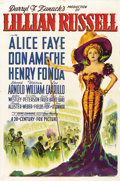 """Movie Posters:Musical, Lillian Russell (20th Century Fox, 1940). One Sheet (27"""" X 41"""")Style A...."""