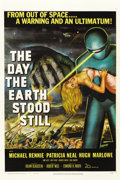 "Movie Posters:Science Fiction, The Day the Earth Stood Still (20th Century Fox, 1951). One Sheet(27"" X 41"")...."