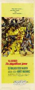 "Movie Posters:Western, The Magnificent Seven (United Artists, 1960). Insert (14"" X 36"")...."