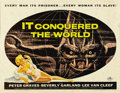 """Movie Posters:Science Fiction, It Conquered the World (American International, 1956). Half Sheet (22"""" X 28"""")...."""