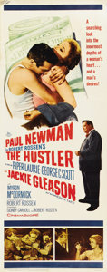 "Movie Posters:Sports, The Hustler (20th Century Fox, 1961). Insert (14"" X 36"")...."