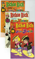 Bronze Age (1970-1979):Cartoon Character, Richie Rich and Jackie Jokers Group (Harvey, 1973-82) Condition:Average VG.... (Total: 16 Comic Books)