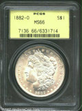 "1882-O $1 MS66 PCGS. Formerly offered as lot 6157 in our June Long Beach Sale in 1999, where it was described as, ""..."
